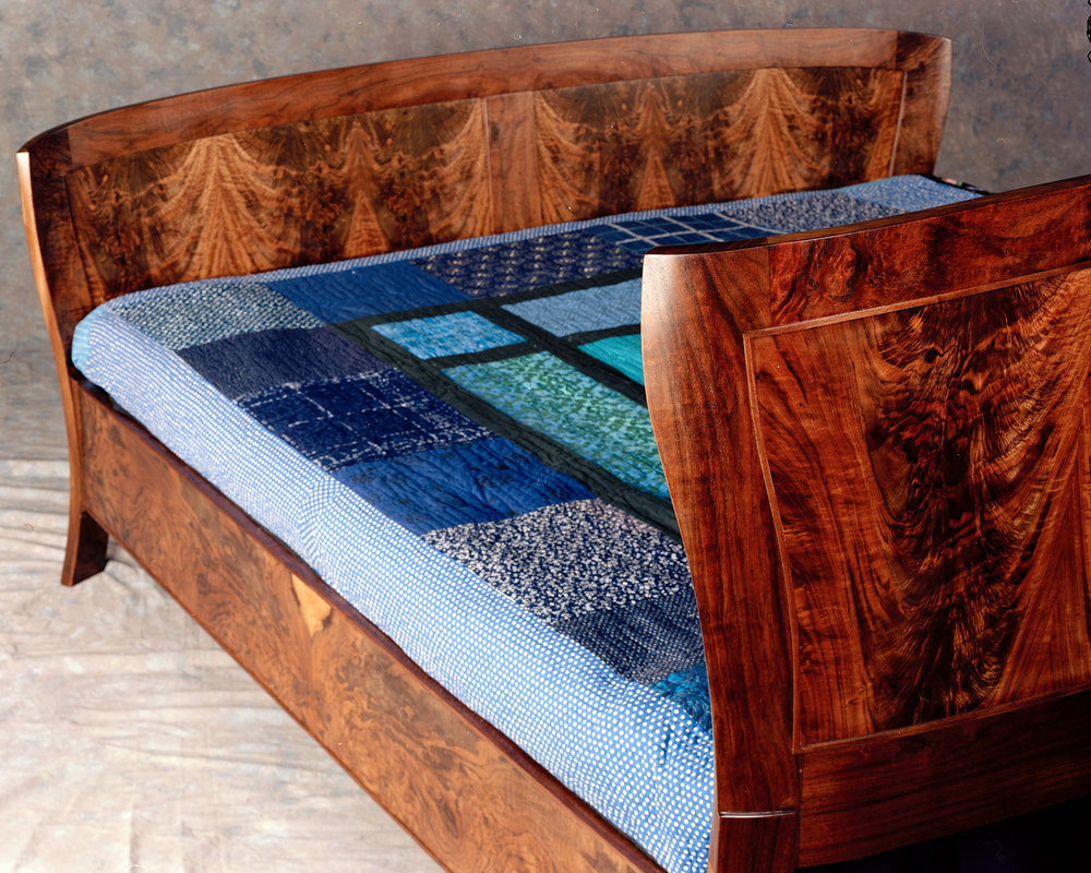 Tango Bed in Walnut