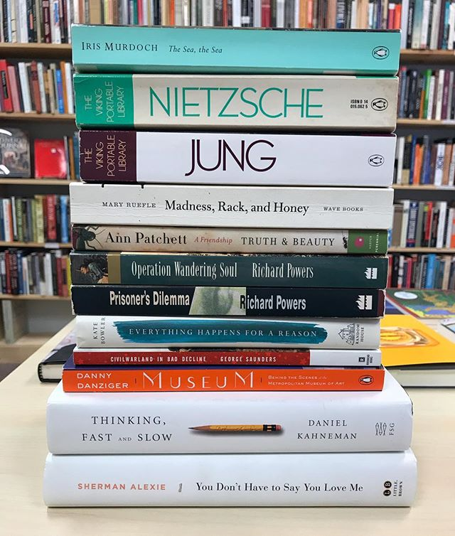 New arrivals 👀  #bookstagram #books #wsnc #dtws