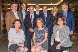 The board members of Education Opportunities for Lebanon