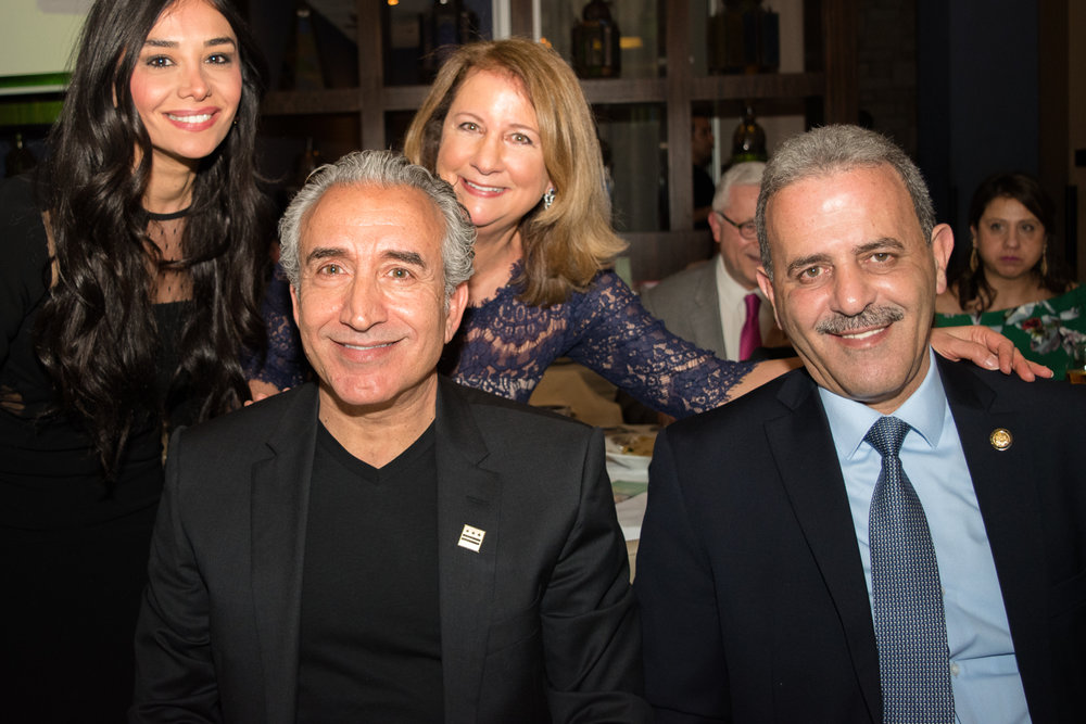 The Lebanese Ambassador joined us for the evening.