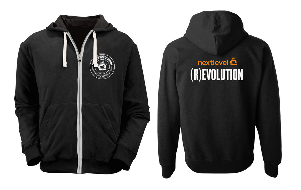 (R)EVOLUTION Zip Hoodie