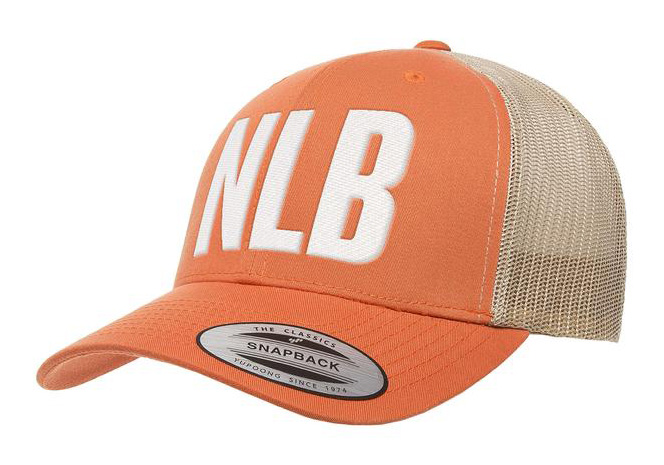 NLB Trucker Cap – Orange