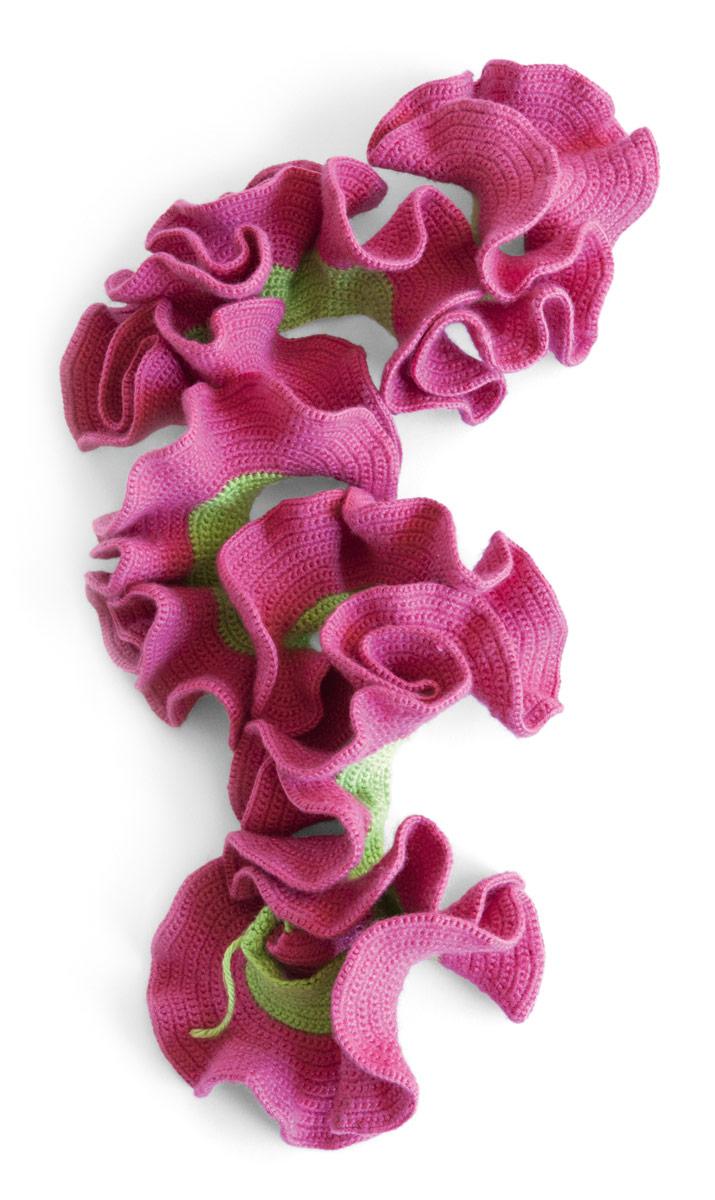 crochet, coral, communication