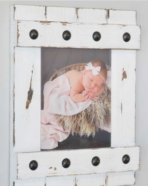 1/25: Pallet Photo Frames (set of 2) — Welcome