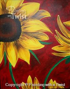 Sunday 2-4pm Sunflowers! And the game doesn't start until later, so you aren't missing anything. :)