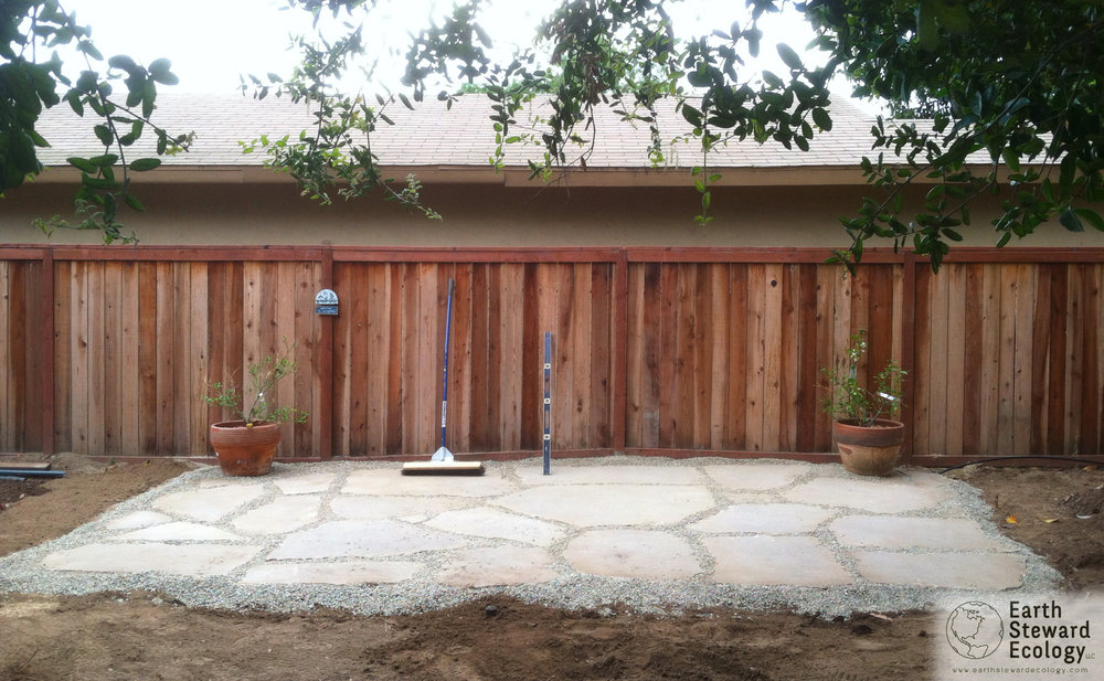 Urbanite Was Used To Create A Functional Patio Space In This Clientu0027s  Backyard.