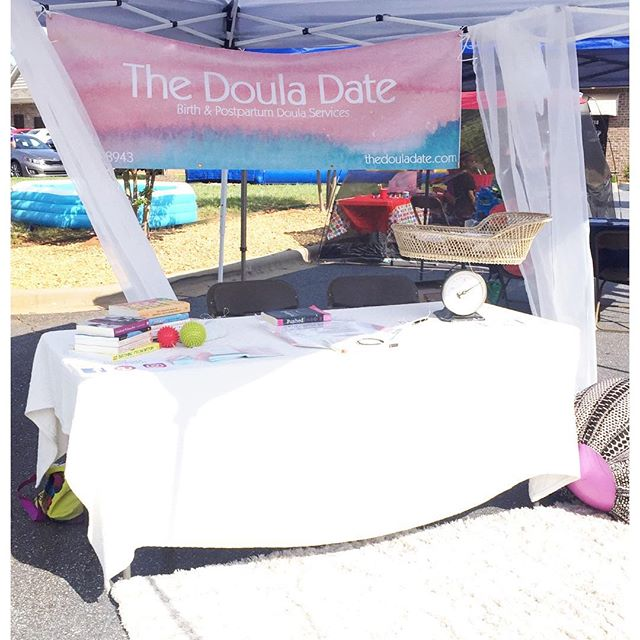 Come see me at my table at Natural Beginnings Birth Center in statesville for their spring fling!! #thedouladate #birthdoula
