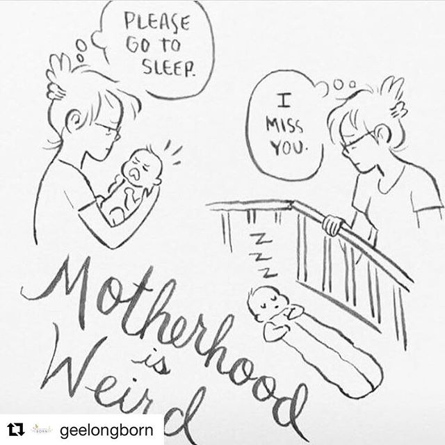 Haha I love this. I've yet to experience motherhood but damn do I miss my postpartum babies when I'm not with them