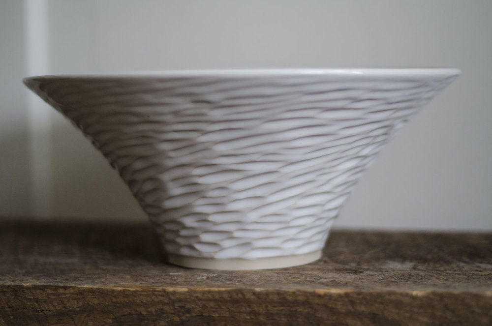 Cornwall Carved Bowl