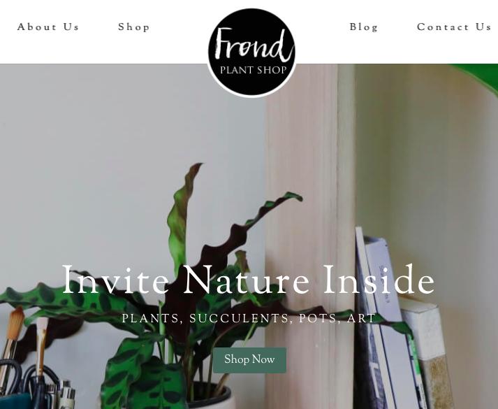Frond Plant Shop Austin, TX
