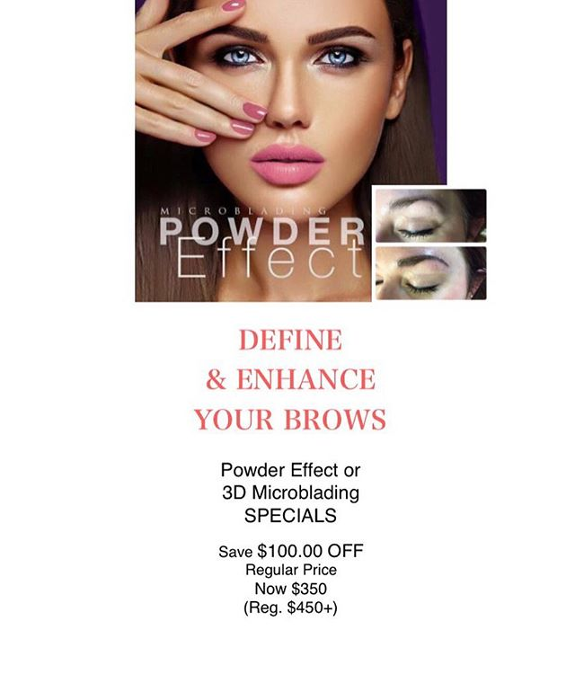 Save $100 on Permanent Eyebrow services today!! 💕 Send me a message to learn more or to book yourself in!