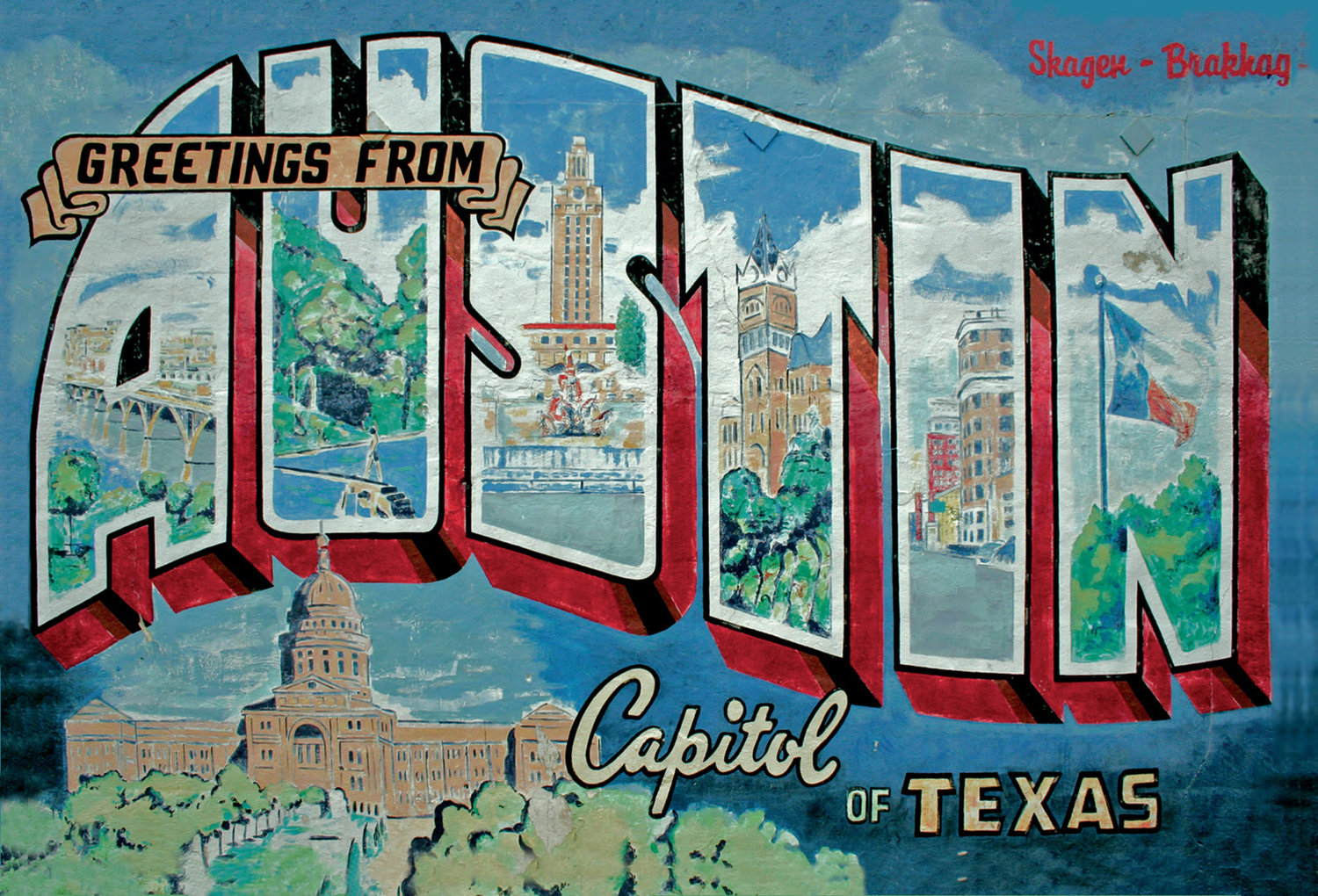 Greetings from austin austin blanks greetings from austin m4hsunfo
