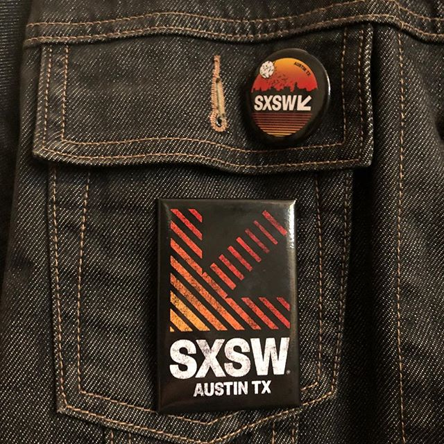 Exclusive to @ausairport , but still like to share. The Buttons are HUGE! This year's #sxsw2018 is going to be killer. Throwing some @austin_blanks merch in the mix makes it that much Awesome-er! Not possible without @dazedrecords @fritzskateboards @nitelamb @happyfhantum #SXSW #atx #local #industry #austinblanks #TEAM #collective #buttons #recognize SXSW #Local #austintexas