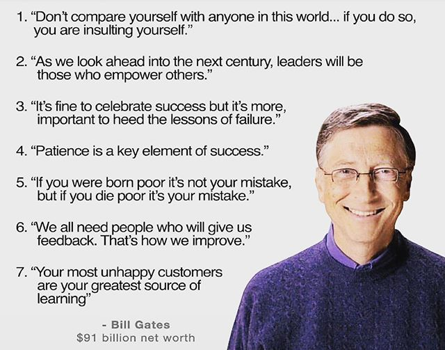 Inspiring words from Bill Gates - we love them all but no.1 is our fave - what's yours? - - - #theworkwardrobe #billgates #inspiration #womenwithstyle #chicworkchick #officestyle #officefashion #weartowork #instastyle #styleinspiration #fashionforward #womenwithstyle #ltkstyletkip #workstyle #abmstyle #chicwish #ltk #styleinfluencer #workoutfitideas #workfashion #dressforwork #officechic #officewear #fashiondiaries #corporatestyle #workweardaily