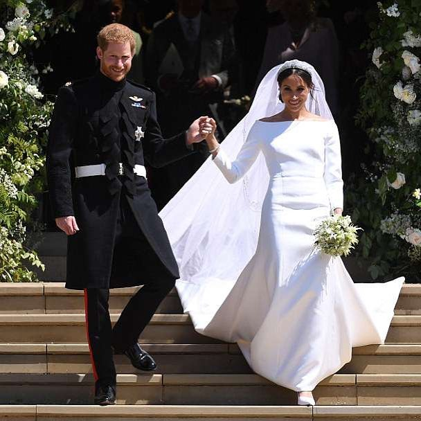 """It was a royal wedding like no other: A gospel choir sang, Dr. Martin Luther King, Jr. was quoted in a rousing address and a young couple was united in a marriage that will change a venerable institution forever"" - We think these words summarise quite nicely what a spectacular day today was. Congratulations to the Duke and Duchess of Sussex. We wish you all the very best and a life time of happiness. 🧡 - - - #royalwedding2018 #dukeandduchessofsussex #givenchy #princeharry #perfection"