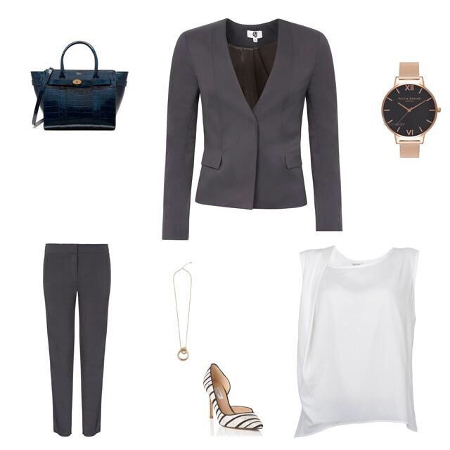 Our Interview Look Capsule featuring our @roseandwillard Isen Suit and Calyx Top. Perfect for the warm weather we currently have. After that important board meeting, whip off the suit jacket for a cooler feel. - - - #theworkwardrobe #capsulewardrobe #womenwithstyle #chicworkchick #officestyle #officefashion #weartowork #instastyle #styleinspiration #fashionforward #womenwithstyle #ltkstyletkip #workstyle #abmstyle #chicwish #ltk #styleinfluencer #workoutfitideas #workfashion #dressforwork #officechic #officewear #fashiondiaries #corporatestyle #workweardaily
