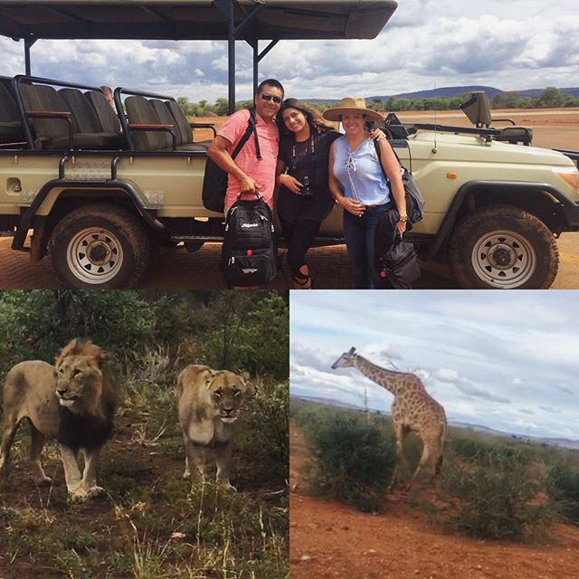 Enjoying the wonderful scenery in #southafrica 🐆🐘🦁🇿🇦