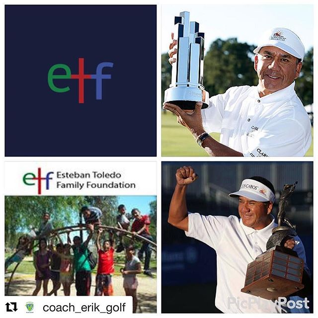 Kind words from my coach today!  Coach Erik's Take: 2016 has been a great year for me as a coach. Being part of a PGA Tour winning Team has been awesome. 4 wins for Team Toledo in 3 years👍🙏😀. What's even better is that behind the scenes @esteban_toledo has been quietly building an orphanage in Mexicali Mexico to benefit children in need(donating a large percentage of his winnings). Winning is great but giving back is even better!! Please take a moment and click on the link in my bio to read about the Esteban Toledo Family Orphanage and if you can, click the donate button to help these kids. #givethanks #give #back #estebantoledofamilyfoundation #teamtoledo