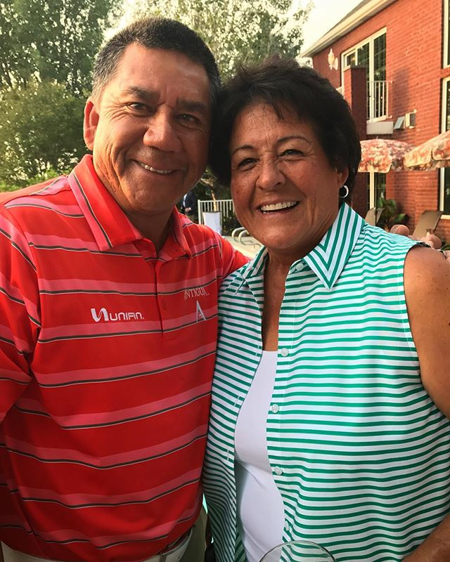 The legend of golf Ms. Nancy Lopez. Thanks for supporting us out there! #3mchampionship @pgatourchampions