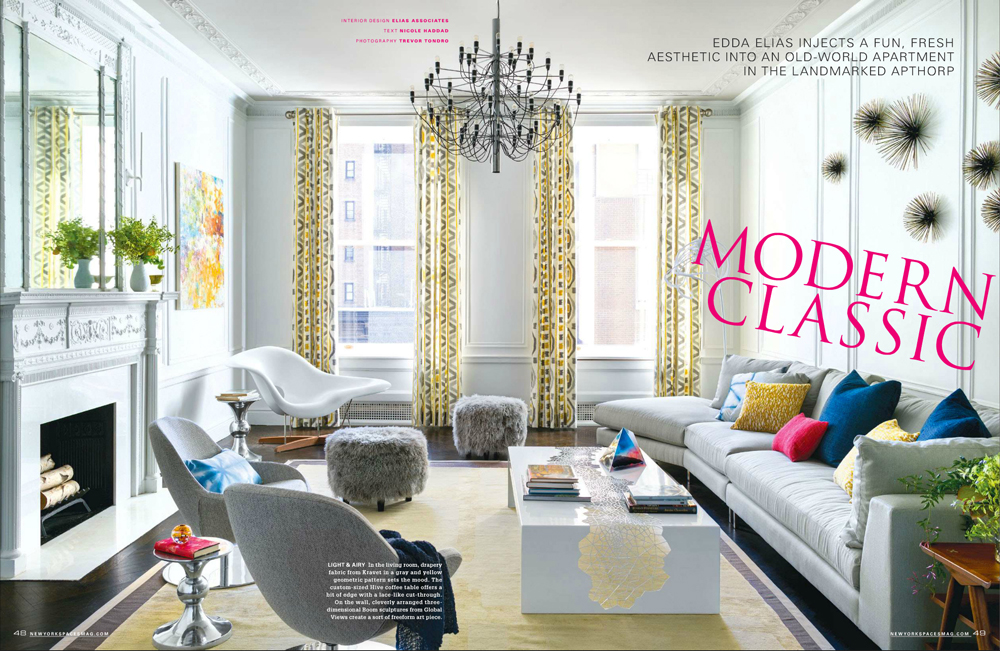 Modern Classics, NY Spaces Magazine, pages 48-49