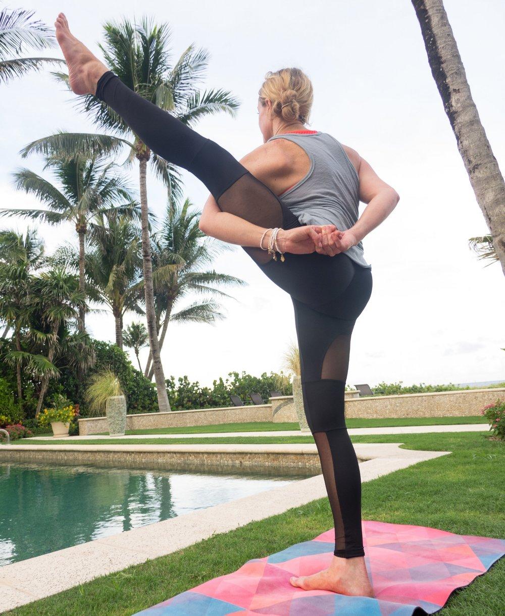 Bracelets-->  Jewelry Yoga  | Yoga Mat-->  Zura Yoga  | Apparel-->  Onzie  &  Free People
