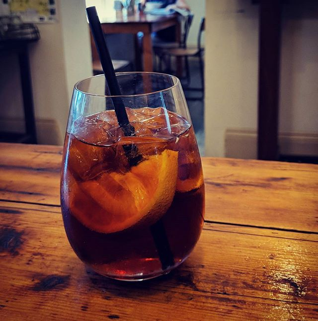 Panamarian Geisha Cold drip with Orange and Soda water. So fresh and refreshing on such a hot day. #cold drip #thegov #geishacoffee #castlemaine