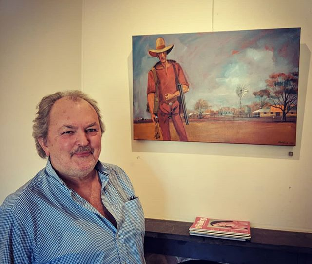 #artsopen is in full swing! Geoff Hocking will be at @thegovcafe all weekend so why not come up and #meetthemaker  #art #painting #castlemaine #castlemainelife #wandervictoria