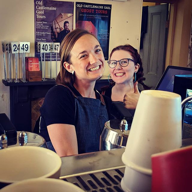 It's our cafe managers @genperrie last day at The Gov. We want to wish her all the best for the future. We will all miss you. From the Gov clan! #thegov #thegovernorscafe #ocg #dontleave #wemissyoualready #ontobiggerandbetterthings #castlemaine