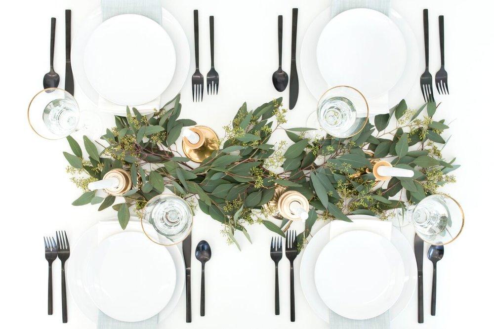 Set Up A Mock Table Setting -