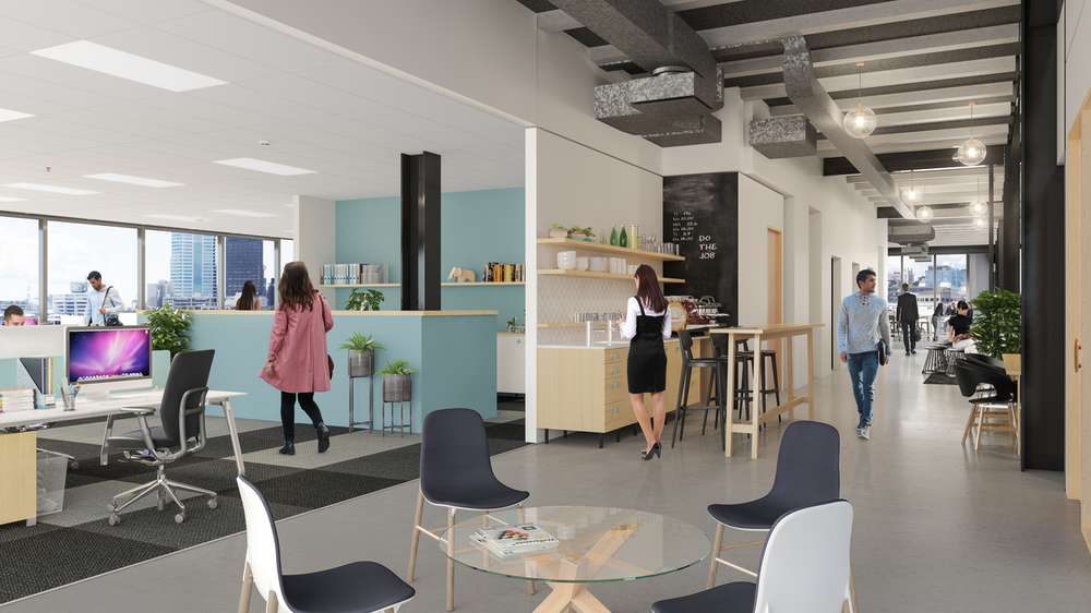 12 Madden Street versatile coworking spaces and connecting laneway