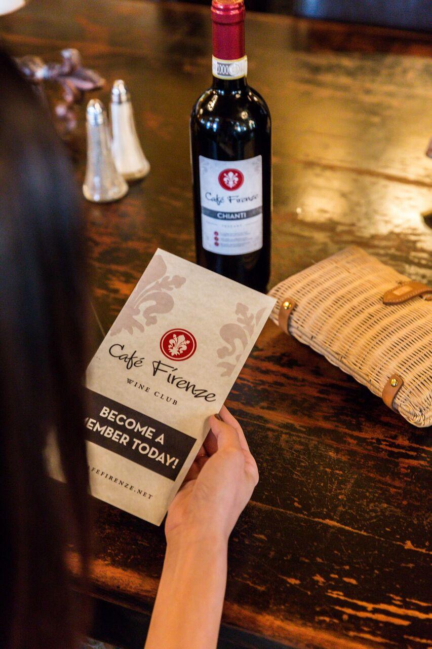Cafe Firenze VIP Wine Club