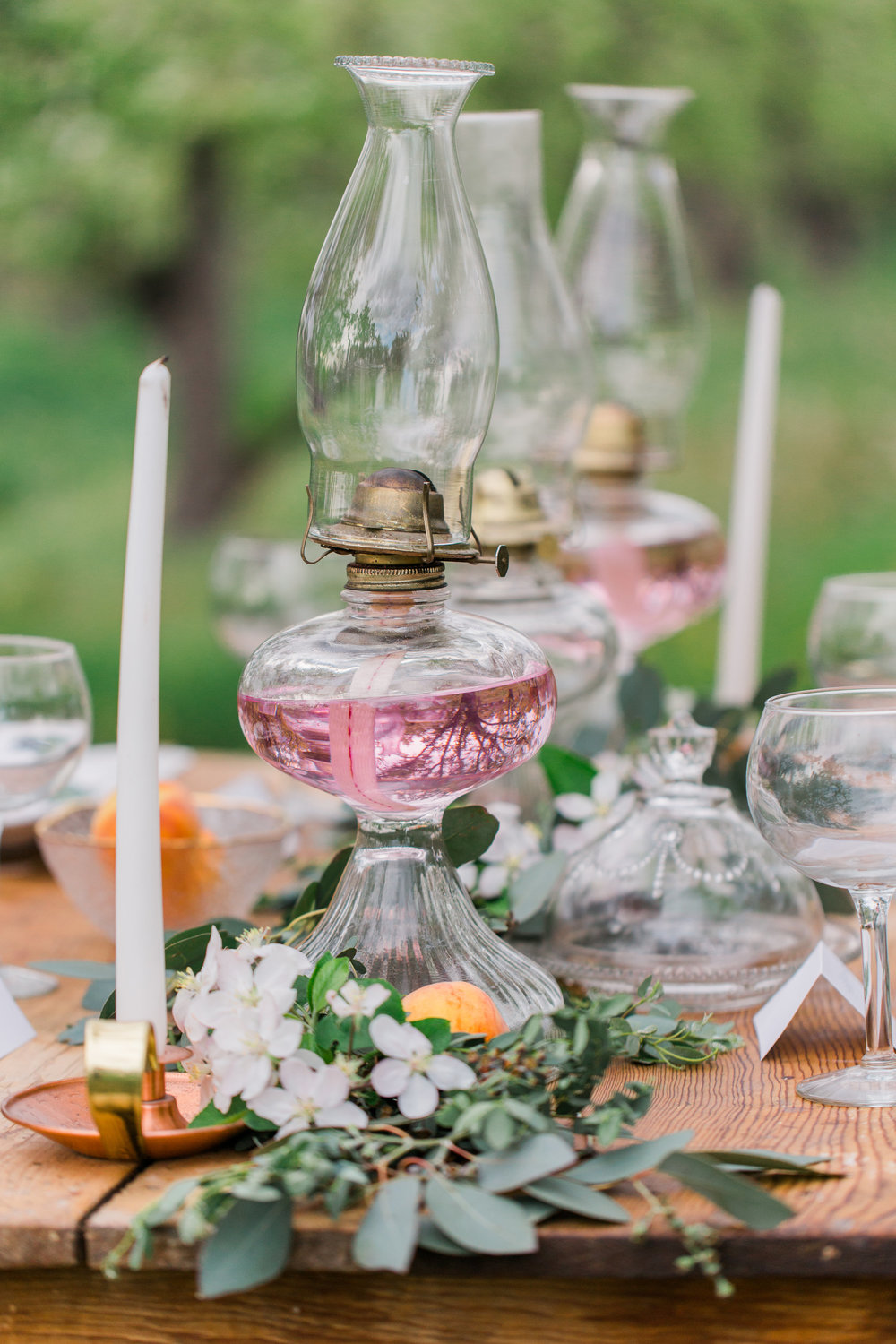 $15.00 We have a dreamy collection of vintage hurricane lamps that will bring the perfect amount of romance to your event.