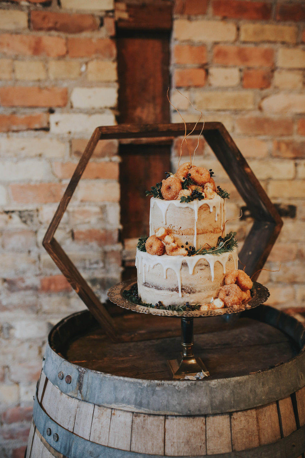 $40.00 we have a collection of primitive and 1950's style whiskey barrels of all sizes. $20.00 Vintage cake stands