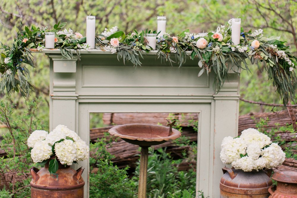 $95.00 beautiful sage green chippy mantle piece. Lots of ideas for engagement sessions or fun piece to display at your event.