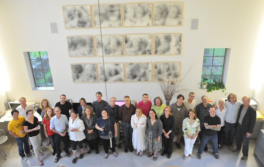 2011 Winterhouse Symposium participants at Winterhouse