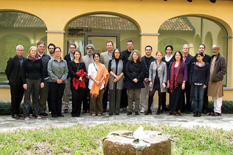 2009 Bellagio Design Symposium participants at the Bellagio Center in Italy