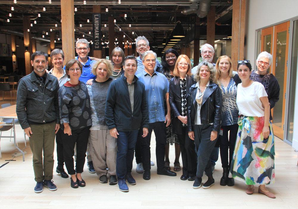 2018 Winterhouse Symposium participants at Adobe