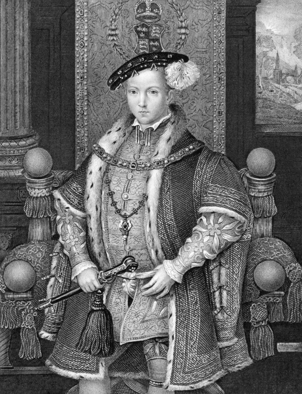 Edward VI, King Henry VIII's son, was a devout Protestant.