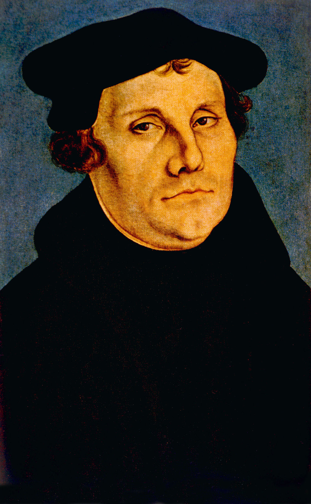 Martin Luther was a part of the Protestant Reformation. He nailed his 95 Theses to the door of Castle Church in Germany.