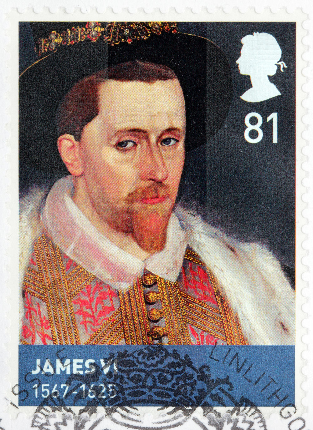 James VI was King of England when the Pilgrims left for the New World.