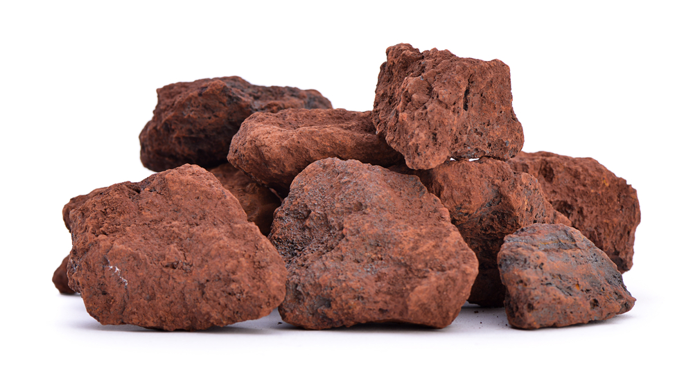 Iron rocks found on Earth