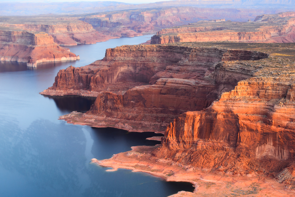 The Grand Canyon is made up of sedimentary rock.