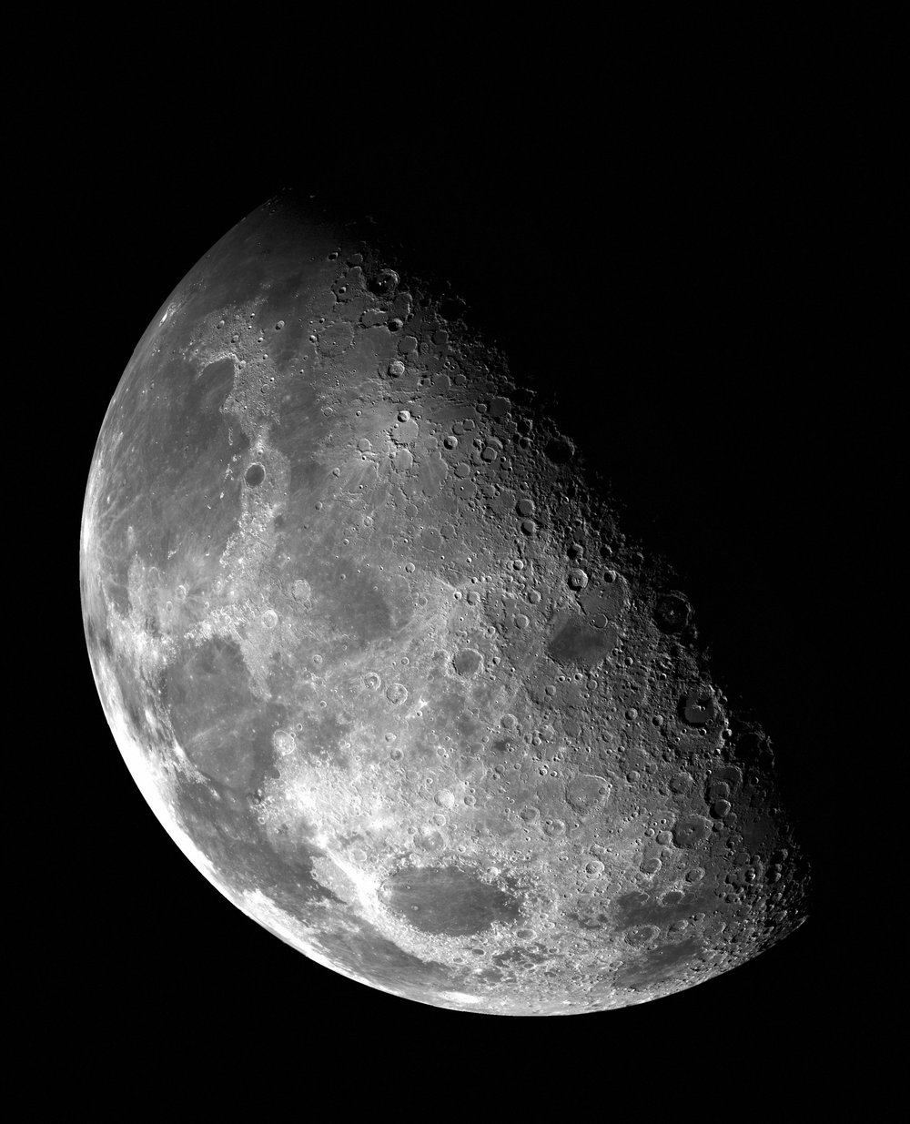You can see craters from the Late Heavy Bombardment on the moon.