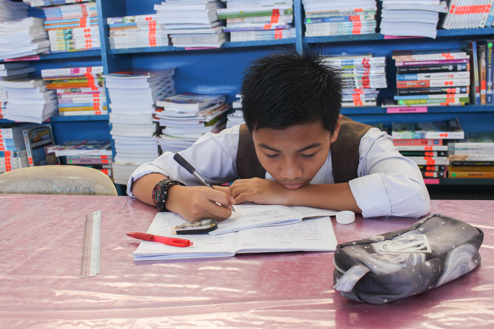 When kids can complete an assignment independently, they will be more likely to complete it.