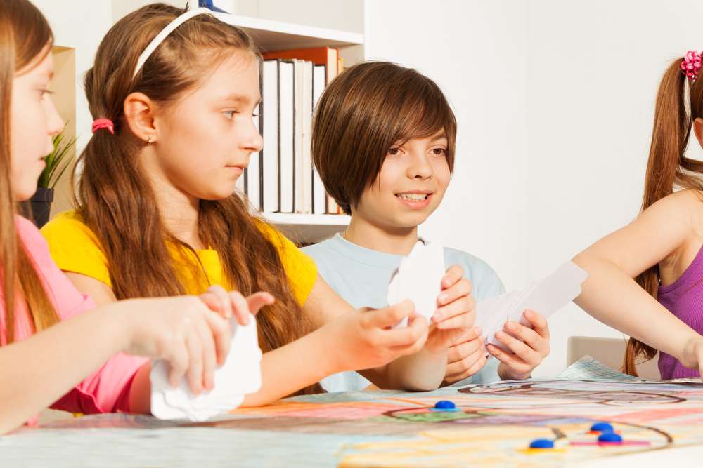 Kids enjoy playing games because the challenge is interactive and accessible to them.