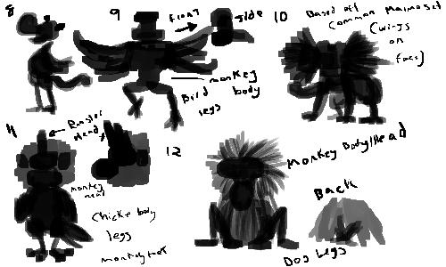 Breakdown explaining the silhouettes more.