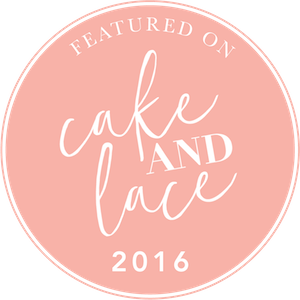 Cake and Lace Blog feature