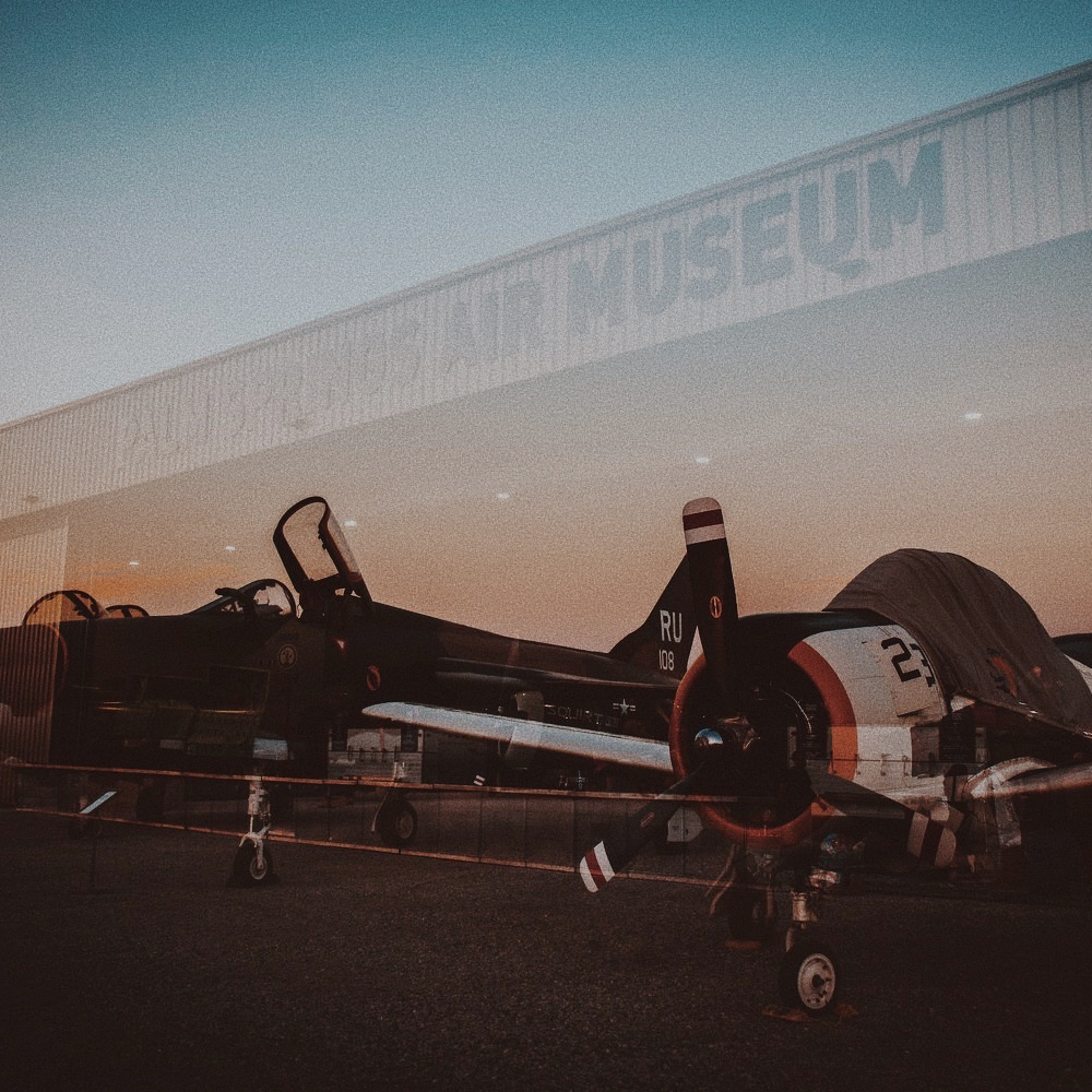 Air Museum - Our weekend host to After Hours parties under the desert stars. After Hours tickets are sold separately and required for boarding. Past headliners include RÜFÜS DU SOL, Bob Moses, James Murphy, Claptone, Lee Foss, Flight Facilities, & more.