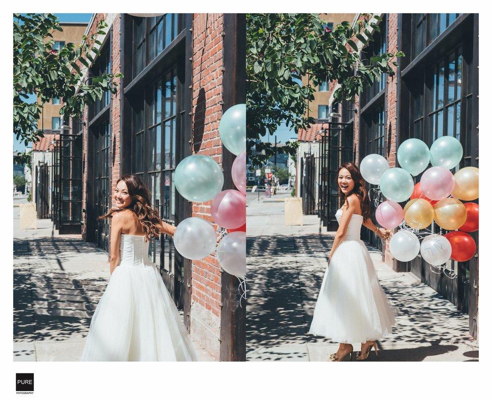 LA 婚紗 拍攝街景