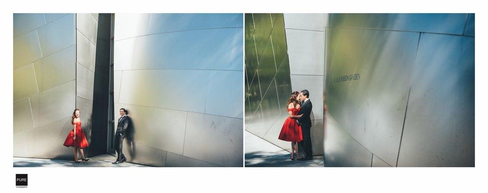 LA 海外婚紗景點Walt Disney Concert Hall Tours